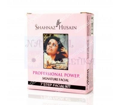 Набор Шахназ Хусейн, комплекс для очистки лица, Shahnaz Husain Professional Power Signature Facial 7 Step