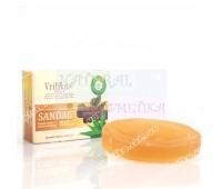 Аюрведическое натуральное мыло Сандал, Sandal Soap Vritikas, 75 г