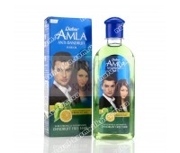Масло для волос с лимоном и розмарином от перхоти, Dabur Amla Anti Dandruff Hair oil 200 мл