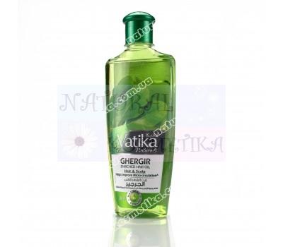 Обогащенное масло для волос с рукколой / Ватика  Дабур / Vatika Dabur / ОАЭ / 200 ml