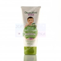 Крем для детей Олива ДермоВива Дабур, DermoViva, Baby Olive Cream, 100 мл