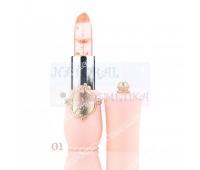 Губная помада, изменяющая цвет, Beauty Bright Flower Crystal Jelly Lipstick Magic Temperature Change Color Lip