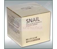 Питательный крем для лица с муцином улитки, омолаживающий, Beotua 50g