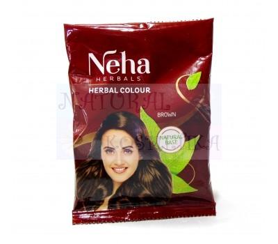 Хна для волос Herbal Colour Brown Neha (Коричневая Неха) 20 гр
