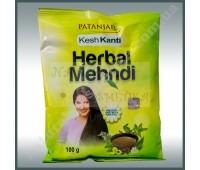 Хна Натуральная для волос Патанджали, Patanjali Kesh Kanti Herbal Mehandi 100g