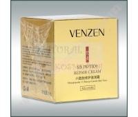 Крем для лица с полипептидами, Venzen Six Peptide Repair Cream, 50 г