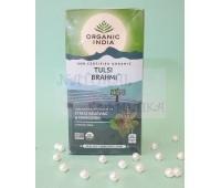 Чай тульси с брами / Tulsi, Brahmi Tea, Organic India / 25 пакетиков