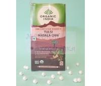 Чай тульси с масала / Masala Tulsi Tea, Organic India / 25 пакетиков