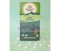 Чай чистый тульси / Tulsi Original, Organic India / 25 пакетиков