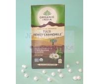 Чай тульси, мед и ромашка / Tulsi, Honey, Chamomile, Organic India / 25 пакетиков