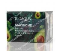Питательный крем с маслом спелого авокадо, BIOAQUA Niacinome Avocado Cream, 50 г