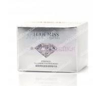Восстанавливающая эссенция, Жидкий шелк, Luofanmeixi Fullerene Placenta Moisturizing Essence, 30 кап