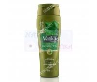 Шампунь-кондиционер для сухих и поврежденных волос с хной Ватика Дабур / Vatika Dabur / Индия / 200 мл