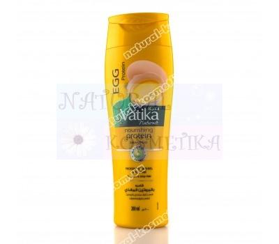 Шампунь с яичным белком для слабых и тонких волос Дабур Ватика / Dabur Vatika / ОАЭ / 400мл