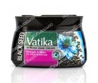 Крем для питания волос, с черным тмином, Ватика / Dabur Vatika Strength and Shine Styling Hair Cream / 140 мл