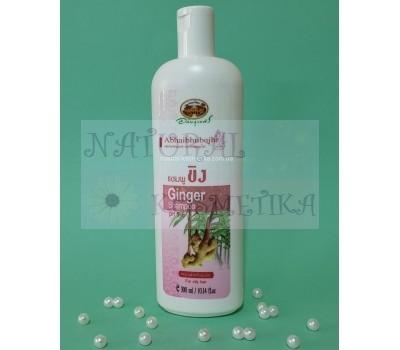 Шампунь с имбирем для жирных волос / Abhaihubejhr Ginger Shampoo / 300 мл