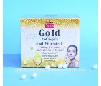 Крем для лица с золотом и коллагеном Banna Gold Collagen and Vitamin E Lifting Firming Anti-Wrinkle Cream, 100 г