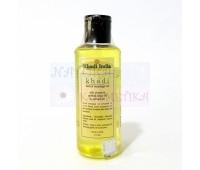 Массажное масло Cандал, алоэ вера и миндаль Кхади, Aloevera, Sandalwood & Almond Body Massage Oil (Khadi), 210 ml