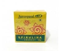 Спирулина хрустящая Ауроспируль Ауровиль / Aurospirul Spirulina Crunchy / 100 г
