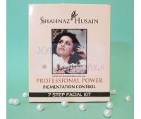 Набор для контроля над пигментацией, 7 шагов, Шахназ / Shahnaz Husain Professional Power Pigmentation Control 7 Step Facial Kit / 6 пакетиков по 8 г, тоник-15 мл
