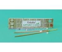 Аромапалочки пыльцовые Природные, Голока / Nature's Nest Goloka Incense / 15 г
