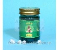 Зелёный тайский бальзам - это лучшее обезболивающее средство с натуральным составом и высокой эффективностью от производителя / Mho Shee Woke / 50 г