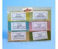 Набор мыло Кхади Soap, Khadi 6 шт