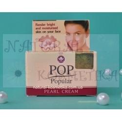 Жемчужный крем для лица с экстрактом папайи POP Popular PEARL CREAM, 4 гр
