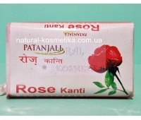 Мыло, Роза, Патанджали / Soap, Rose, Kanti, Patanjali / 75 г