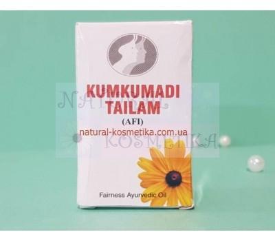 Масло для лица, шафрановое / Kumkumadi tailam, Vyas / 12 мл.
