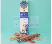 Аромапалочки/Благовония индийские пыльцовые /Maanat Massala Agarbatti, Vree Vani / 100 г