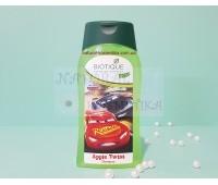 Детский шампунь для мальчика, без слез, Биотик, Зеленое Яблоко / Biotique Disney/ Bio Green Apple Baby Shampoo/ 200 ml
