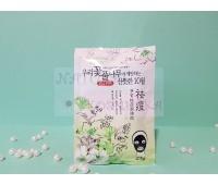 Тайская маска для лица с углем и зеленым чаем / Rolanjona 25 г