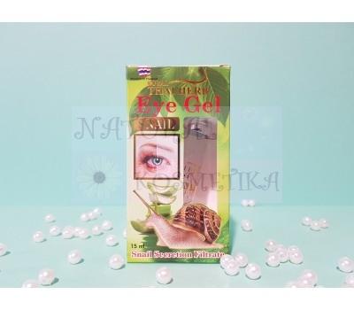 Гель с секрецией улитки, для кожи вокруг глаз / Eye Gel Yaya, Snail Secret Royal Thai Herb / 10 г