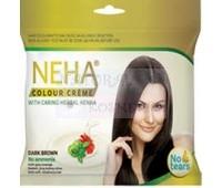 Крем-краска для волос - без амония / Neha dark brown/15ml+15 ml