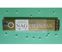 Аромапалочки Золотой Сандал / Golden Nag Chandan / 15 г