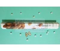 Угольные аромапалочки Миндаль / Incense Sticks Almond, Darshan / 20 шт