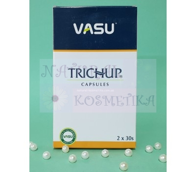 Капсулы для роста волос, Тричуп / Trichup Hair Capsules, Vasu / 60 кап