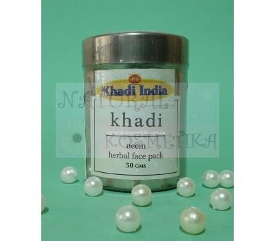 Убтан для лица Ним, Кхади / Herbal Face Pack Neem, Khadi / 50 г