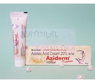 Крем для лица Азидерм крем 20% / Aziderm ( Azelaic Acid Cream 20%) / 15 г