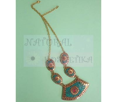 Ожерелье-воротник ручной работы
