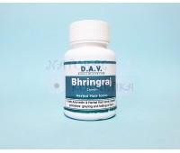 Аюрведическое средство для волос Bhringraj, D.A.V., 500 мг, 50 капc.
