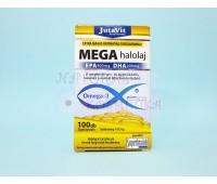 Рыбий жир Омега 3 / MEGA halolaj / JutaVit / 100 шт.