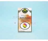 Мультивитаминные таблетки, покрытые оболочкой, Multivitamin,Herbaria Patikaja, 30 шт.