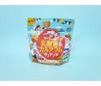 Комплекс витаминов Са и кисломолочной добавкой для детей, со вкусом йогурта / Unimat Riken / 90 шт. / 95 г