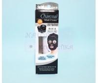 Черная маска-плёнка  очищающая поры с бамбуковым углем / Bamboo Charcoal Oil Control Anti-blackhead Mask Cream / 130 г