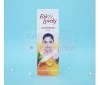 Крем для лица Fair&Lovely Ayurvedic Care+ Natural Glow / Индия / 50 г