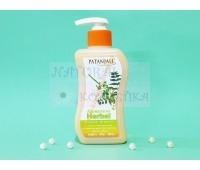Антибактериальное жидкое мыло для рук с экстрактом нима и тулси Патанжали / Patanjali / Индия / 250 мл