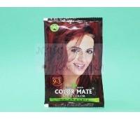 Хна для волос на натуральной основе, без аммиака / Color Mate Hair Color / Индия / 15 г