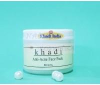 Маска для лица против акне Кхади / Anti-acne Face Pack / Khadi / 50 г